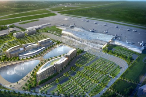 Стройка аэровокзала Симфероп…