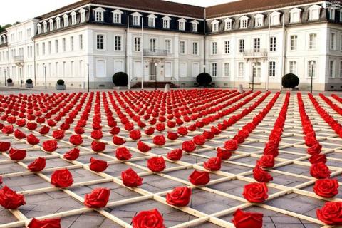 Тысяча алых роз Цвайбрюккенa