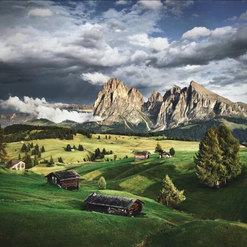 Замечательные снимки природы фотографа с дальтонизмом Килиана Шонбергера