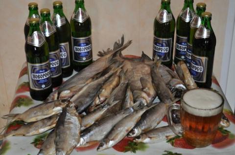 Пиво да рыба