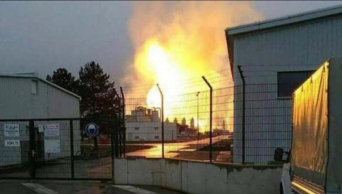 Взрыв приостановил поставки газа из РФ через Австрию