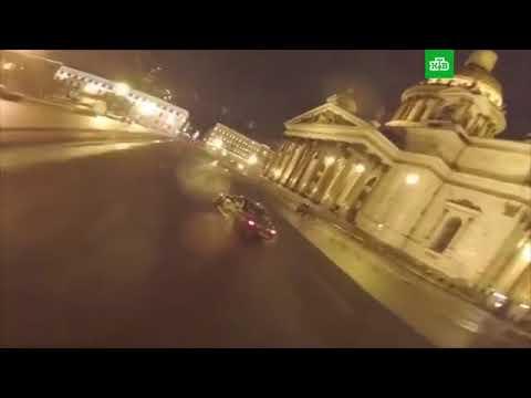 Исаакиевская площадь ночью р…