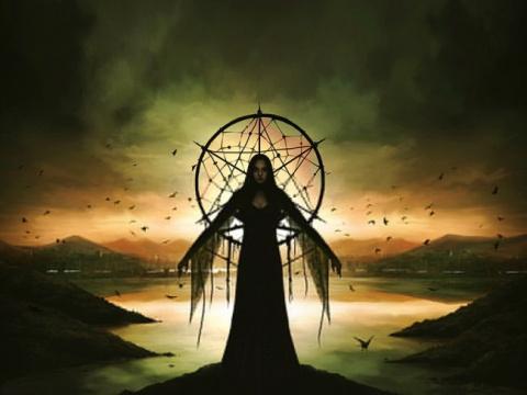 Черная магия ведьмы