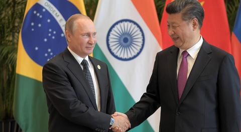 РФ и КНР готовят самый передовой конфликт с США. Анна Королёва