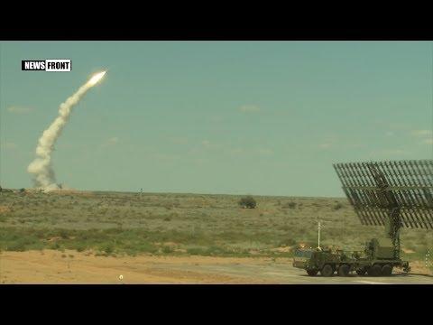 Практические пуски расчётов ЗРК С-300 по воздушным целям