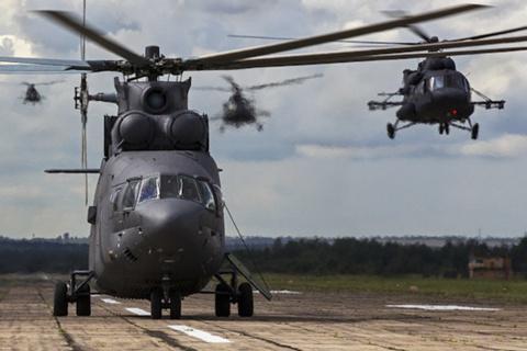 """Вертолеты """"Терминатор"""" отраб…"""