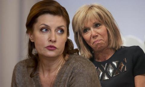 Жена Макрона заткнула за пояс первую пани Украины