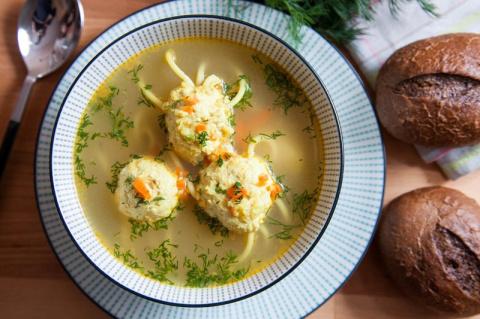 Суп «Осьминожки»
