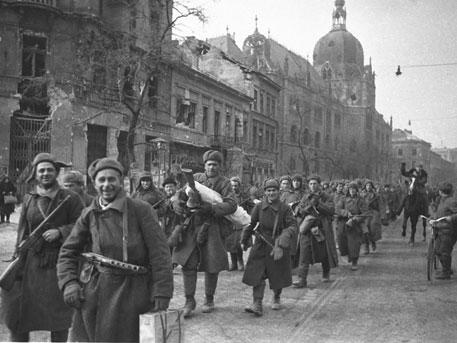 Семьдесят лет назад Советская Армия освободила Будапешт