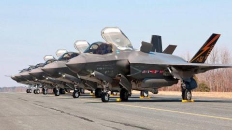 Истребители F-35 начали ржаветь