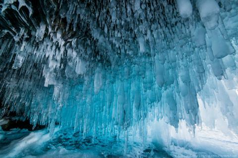 Ледяные сказки Байкала