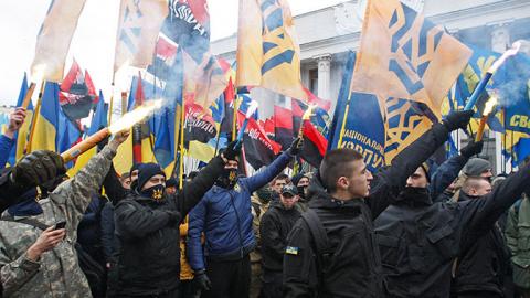 Неонацисткое правительство Украины вызывает тревогу у американцев — The Huff Post