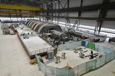 На пусковом энергоблоке №4 Ростовской АЭС осуществлен пробный набор вакуума турбины