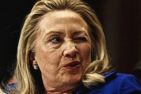 Киллари Клинтон испугалась м…