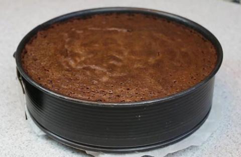 Замечательный шоколадный бисквит «Перфект»