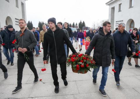 Бывшего капитана сборной Украины по футболу накажут за георгиевскую ленточку