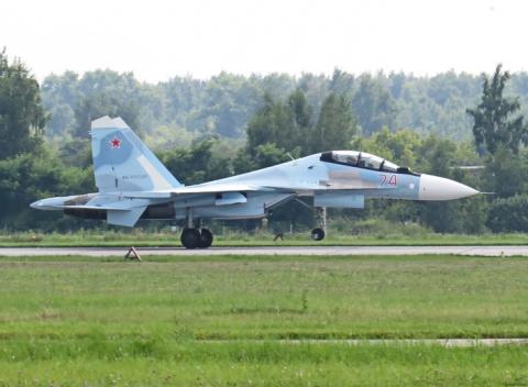 В состав 14-го гвардейского истребительного авиационного полка прибыли еще два истребителя Су-30СМ