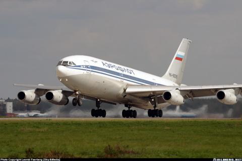 Старая авиационная байка про Ил 86