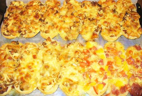 Пицца на Баггетах