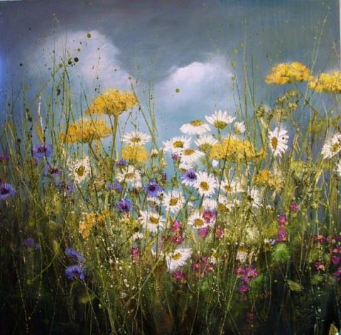 Полевые цветы художницы Marie Mills