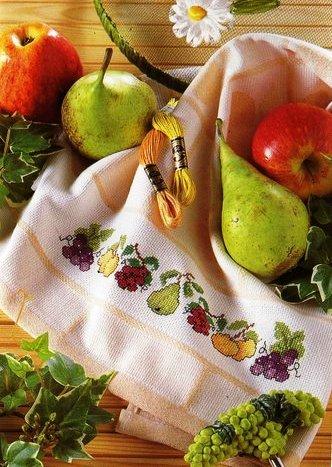 Вышитые полотенца
