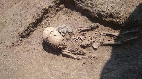 В Крыму нашли могилу инопланетянина