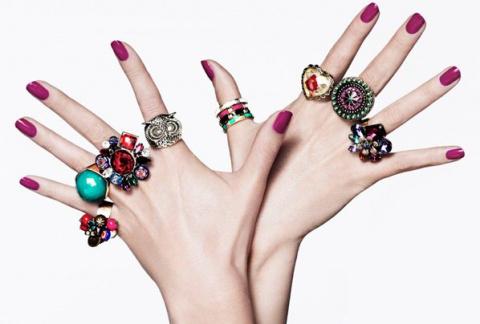 Как правильно носить кольца …