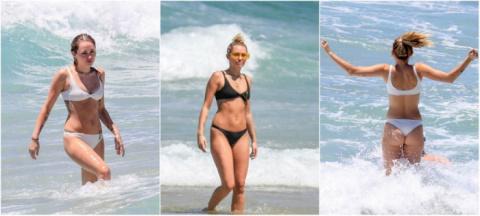 Майли Сайрус на отдыхе в Австралии