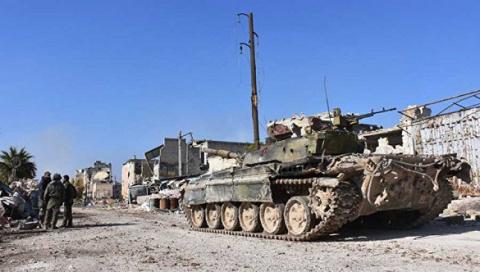 Сирийская армия и«Хезболла»…
