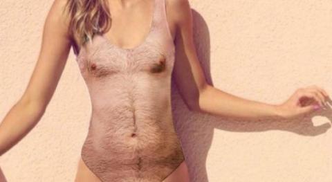 Сюр дня: «волосатый» купальник — новый модный тренд