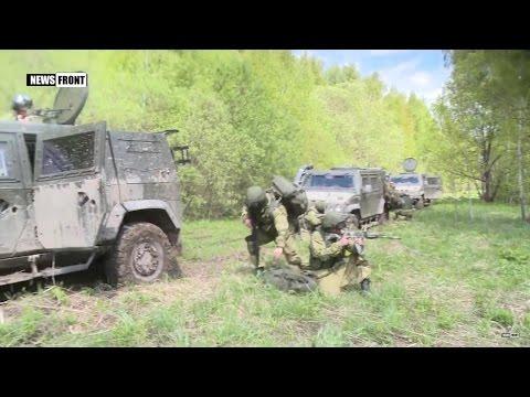 ВДВ России: использование бронеавтомобилей «Рысь» в ходе тактической подготовки
