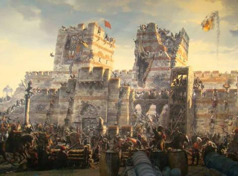 Падение Константинополя и Византийской империи