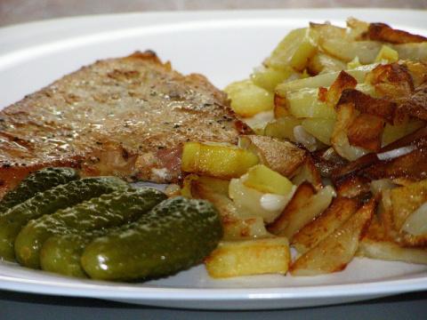 Как пожарить картошку с румяной корочкой
