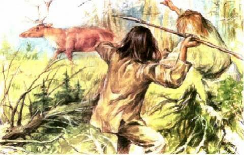 Охота первобытных людей – как древние люди охотились на животных: виды и способы охоты