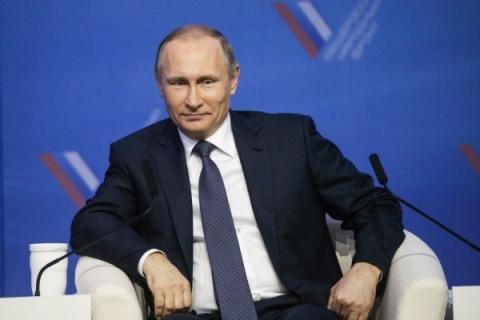 Президент РФ Владимир Путин …
