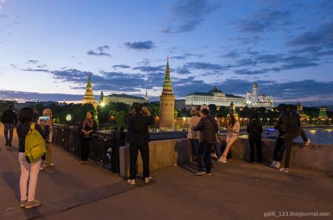 Эти короткие московские ночи