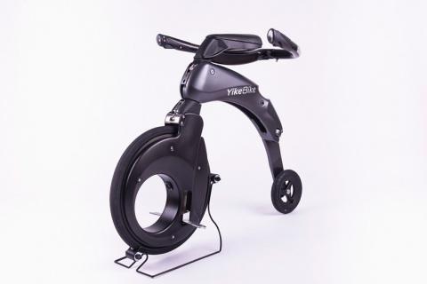 Полная свобода передвижения с велосипедиком yikebike