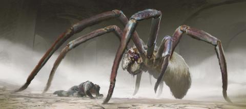 Невидимый паук в спутниках