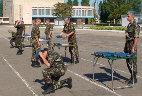 Украинских десантников в оче…