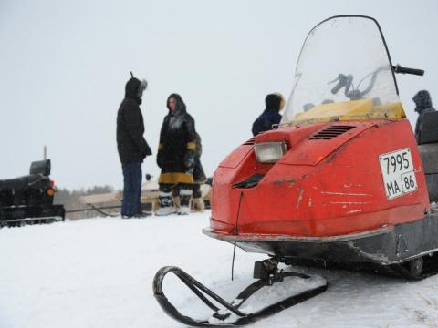 Шесть человек пропали вКрасноярском крае после прогулки наснегоходах