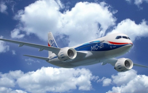 Рогозин проинформировал Путина о первом полёте российского самолёта МС-21