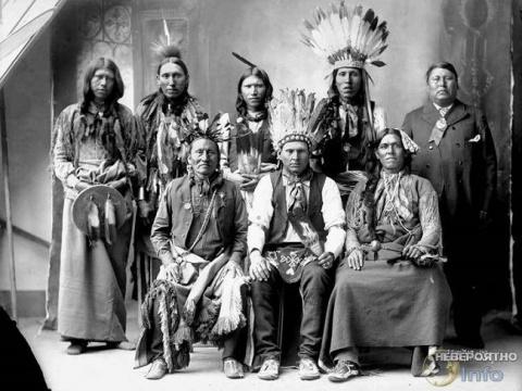 Индейцы никогда не стриглись