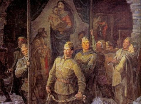 Что самого ценного Красная армия вывезла из нацистской Германии