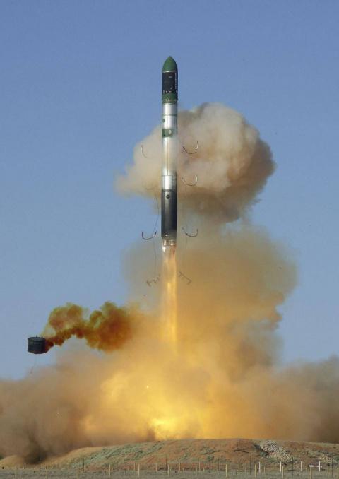 Ядерные силы России: «Булава»