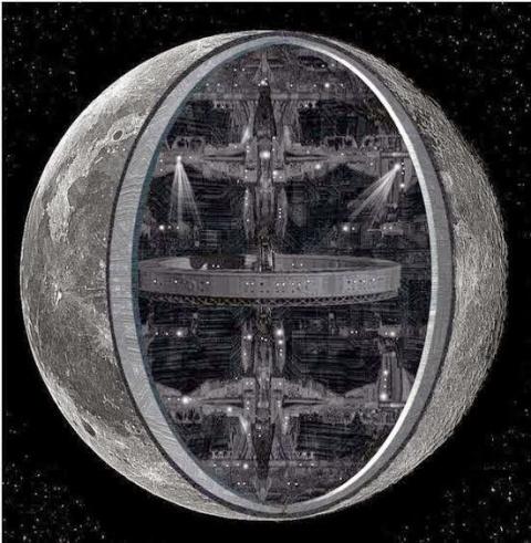 Луна - космический корабль и…