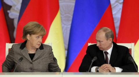Путин вместо Меркель, такого…