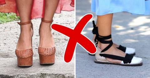 Тенденции, с которыми необходимо знать меру — 8 пар обуви, которая вредит ножкам