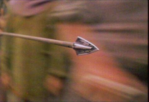 Как вытащить стрелу
