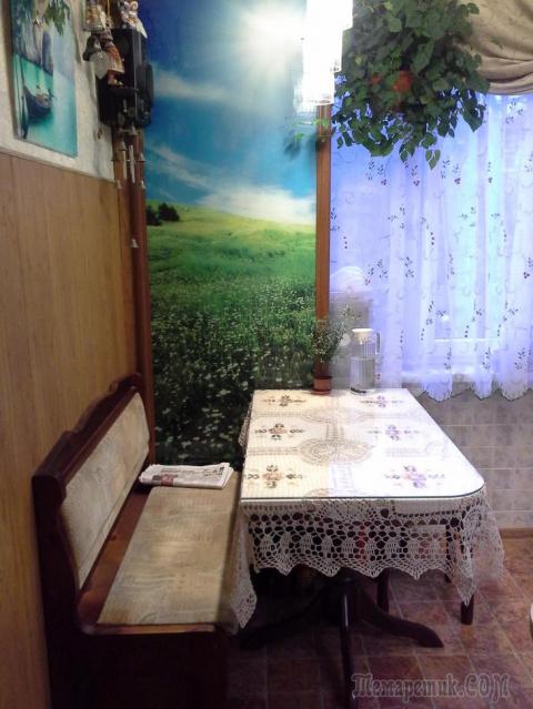 Моя кухня 6 кв.м. в хрущёвке.