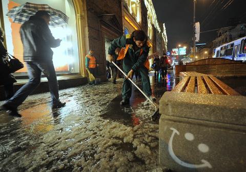 Москву накроет ледяной дождь